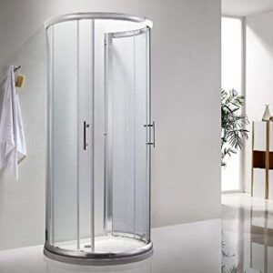 Icon D Shaped shower cubicle