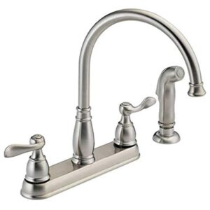 2-Handle Kitchen Sink Faucet