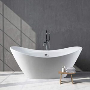 Acrylic Clawfoot Bathtub
