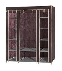 Palace Portable Fabric Wardrobe with Shelves